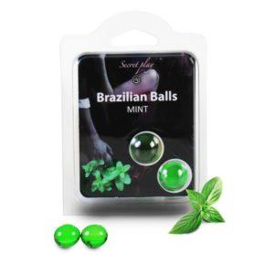 Boules Brésiliennes Menthe