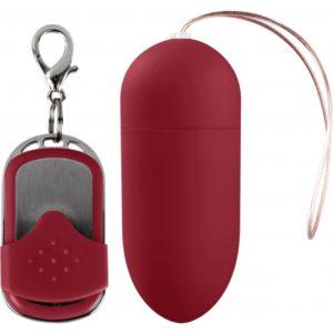 Œuf Vibrant rouge 10 Vitesses avec Télécommande