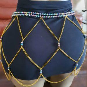 Joongoma - Ceinture de perles/ Férr/ Dial-diali
