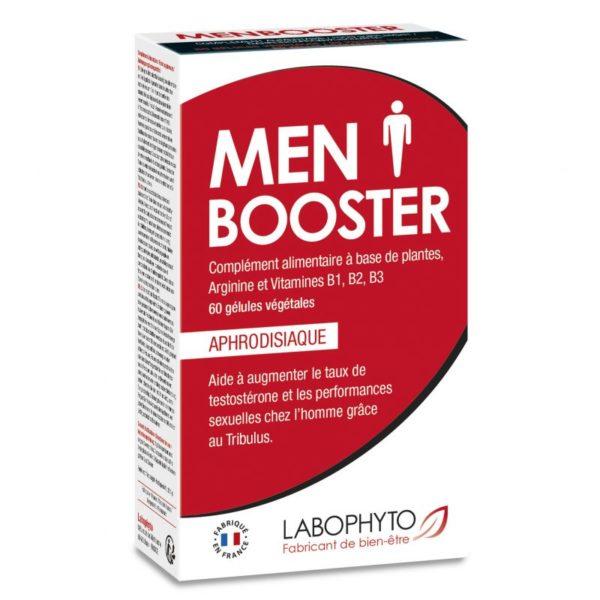 MenBooster - Gel d'Érection 6 dosettes Labophyto