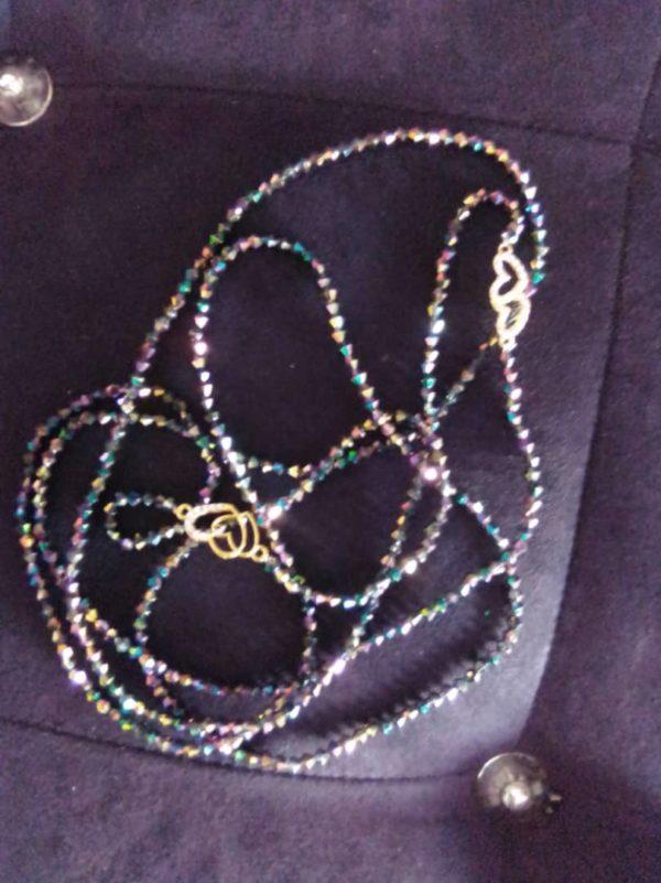 2 Ceintures en perles/ Bine-Bine Amy Shine