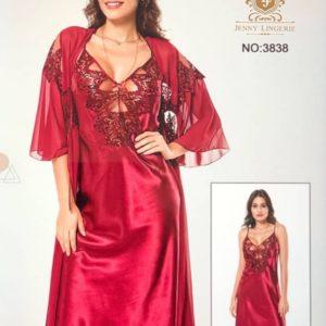 Nuisette Sensuelle + Déshabillé Divine Rouge XL