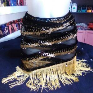 Petit Pagne Maxi Effet Black & Gold Satisfaction