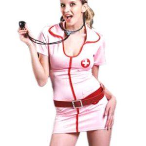Déguisement Infirmière Rose