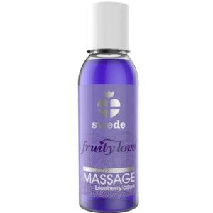 Huile de Massage Cassis Blueberry Swede 50 ml