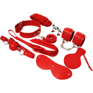 Set BDSM Expérience Fetish Kit Rouge