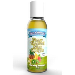 Huile de Massage Chauffante Vin Pétillant Fruits Exotiques Swede 50ml