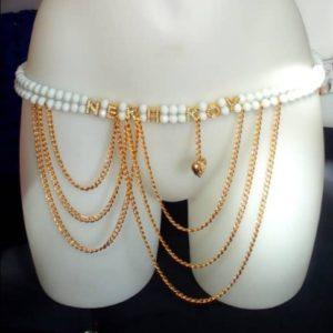 """Ceinture en Perles/ Ferr/ Dial-Diali """"Nekh K*y"""""""