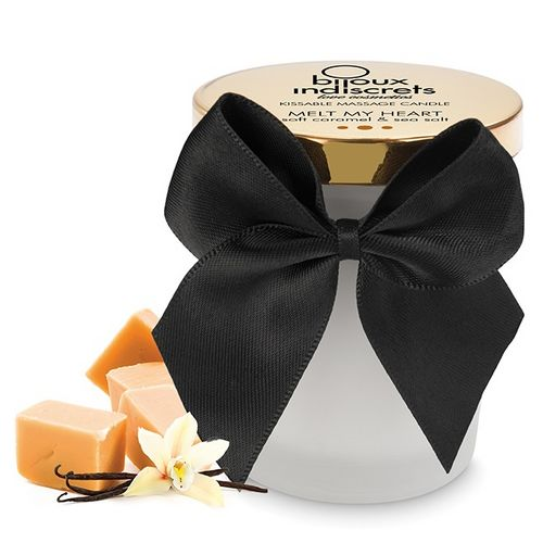 Bougie de Massage Caramel Doux Comestible Bijoux Indiscrets