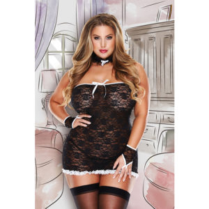 Déguisement La Sexy Femme de chambre French Curvy Maid